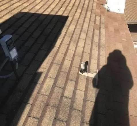 Roof Seal Clean up